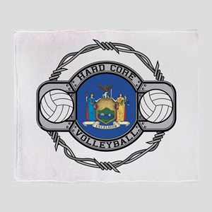 New York Volleyball Throw Blanket