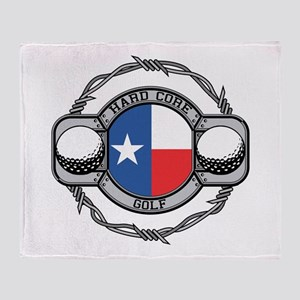 Texas Golf Throw Blanket