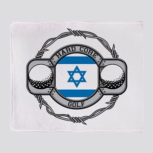 Israel Golf Throw Blanket