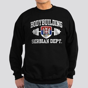 Serbian Bodybuilder Sweatshirt (dark)