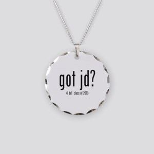 got jd? (i do! class of 2011) Necklace Circle Char