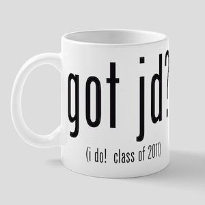 got jd? (i do! class of 2011) Mug