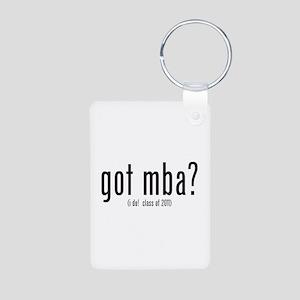 got mba? (i do! class of 2011) Aluminum Photo Keyc