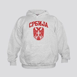 Serbia Kids Hoodie