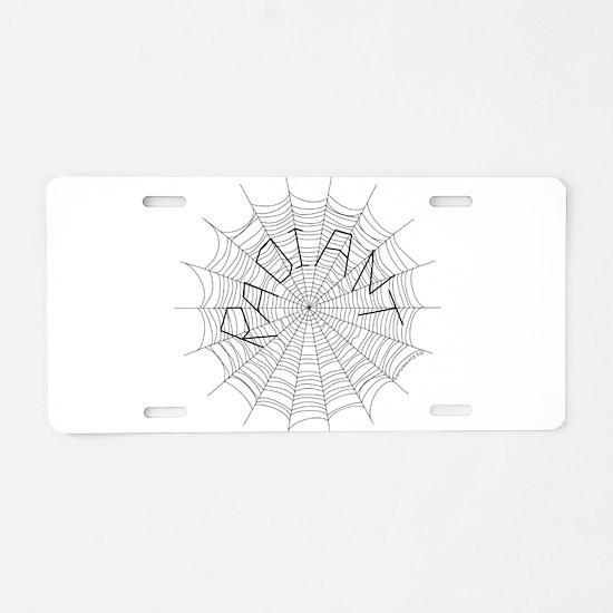CW: Radiant Aluminum License Plate