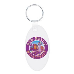 New Mexico MainStreet Keychains