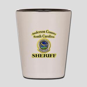 Anderson Sheriff Aviation Shot Glass