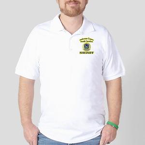 Anderson Sheriff Aviation Golf Shirt