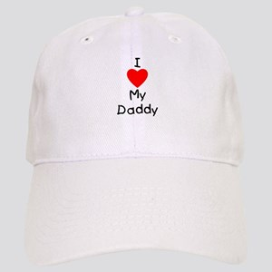 54e39f50d89 I Love My Daddy Hats - CafePress