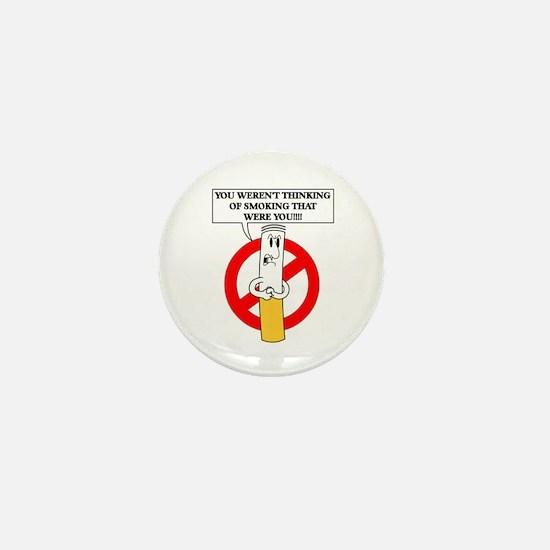 Don't smoke it Mini Button