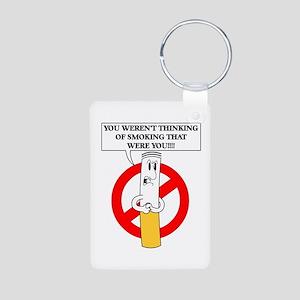 Don't smoke it Aluminum Photo Keychain