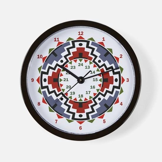 Southwestern Wall Clock