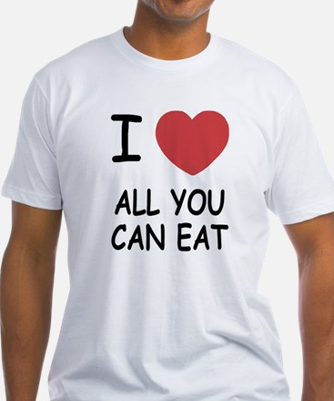 I heart all you can eat Shirt