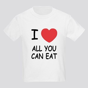 I heart all you can eat Kids Light T-Shirt