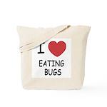 I heart eating bugs Tote Bag