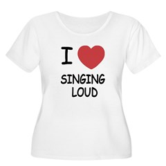 I heart singing loud T-Shirt