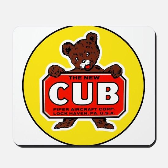 Piper Cub Mousepad