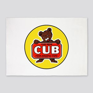 Piper Cub 5'x7'Area Rug