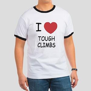 I heart tough climbs Ringer T