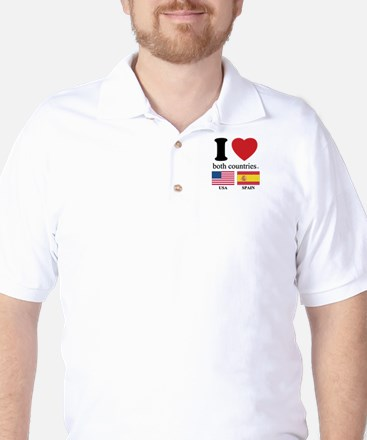 USA-SPAIN Golf Shirt