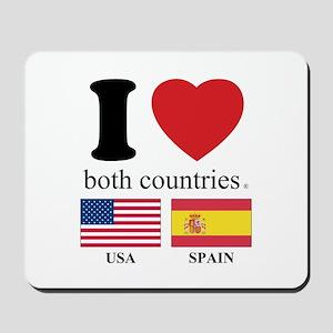USA-SPAIN Mousepad