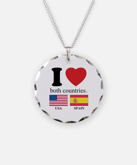 USA-SPAIN Necklace