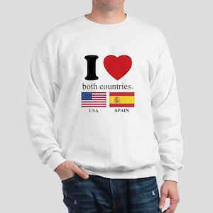 USA-SPAIN Sweatshirt