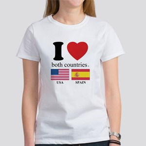 USA-SPAIN Women's T-Shirt