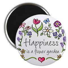 Happiness is.. Garden Magnet