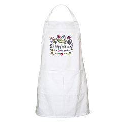 Happiness is.. Garden Gardener's Apron