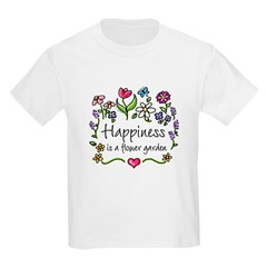 Happiness is.. Garden Kids T-Shirt