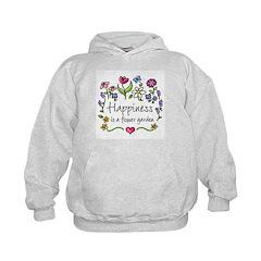 Happiness is.. Garden Hoodie