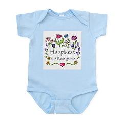 Happiness is.. Garden Infant Creeper