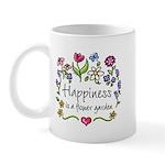 Happiness is.. Garden Mug