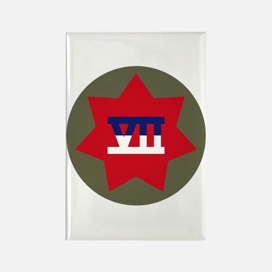 VII Corps Rectangle Magnet