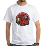 Darts Devil - Hot or Not White T-Shirt