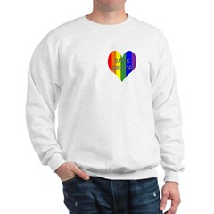 Safe Space In Heart Sweatshirt