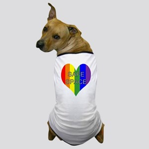 Safe Space In Heart Dog T-Shirt