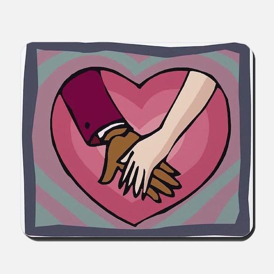 Heart in Hand (BMWW) Mousepad