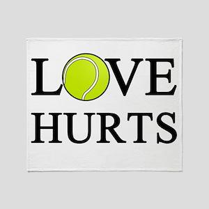 Love Hurts (light) Throw Blanket