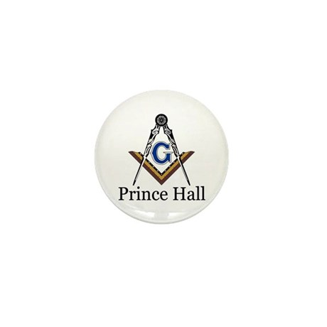 Prince Hall Square and Compass Mini Button (10 pac