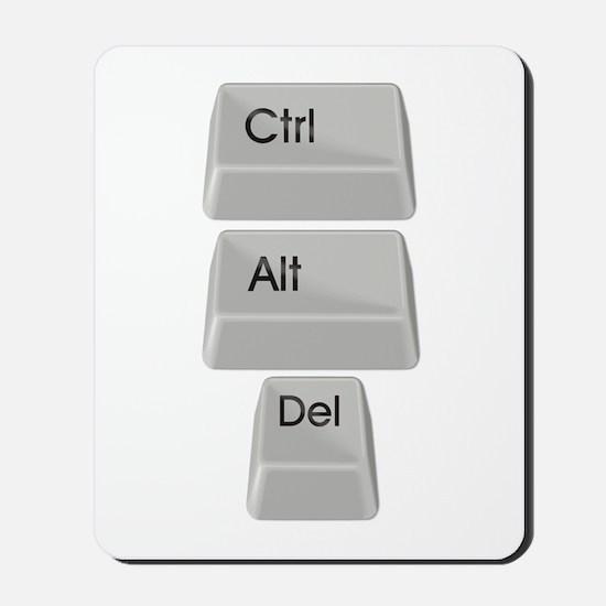 Ctrl Alt Delete Mousepad