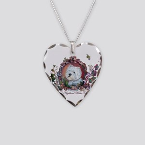 West Highland White Terrier Necklace Heart Charm