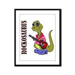 Rockosaurus Framed Panel Print