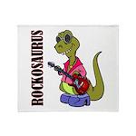 Rockosaurus Throw Blanket