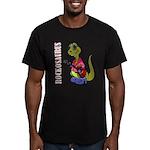 Rockosaurus Men's Fitted T-Shirt (dark)