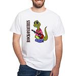 Rockosaurus White T-Shirt