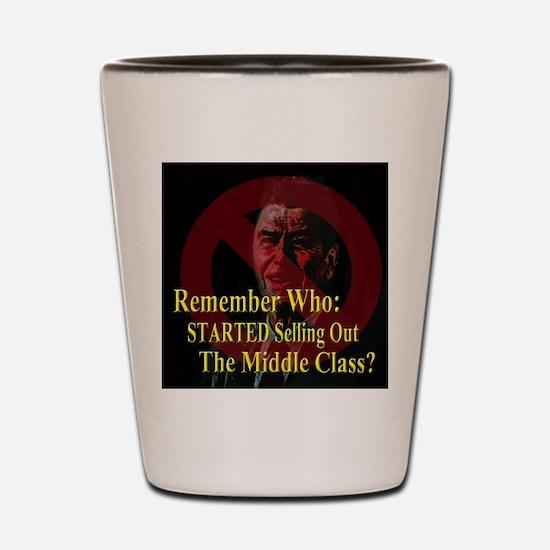 Reagan SoldOut MiddleClass Shot Glass