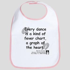 Graham Dance Quote Bib