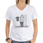 Reverse Centaur (no text) Women's V-Neck T-Shirt